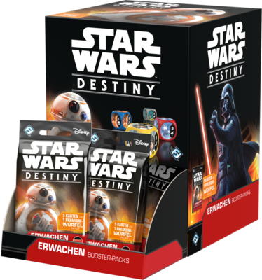 Star Wars: Destiny - Erwachen Booster (36)-Display DEUTSCH