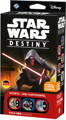 Star Wars: Destiny - Kylo Ren Starter-Set DEUTSCH