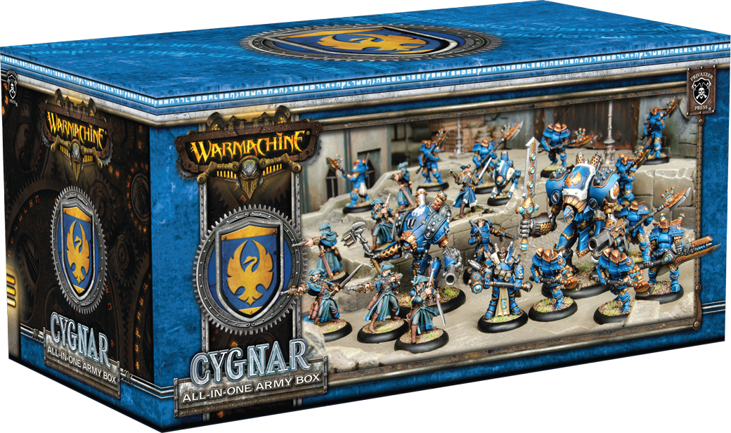 Cygnar All in One Army Box - Warmachine - Privateer Press