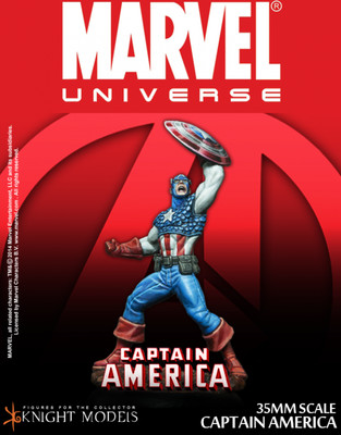 Captain America - Marvel Knights Miniature