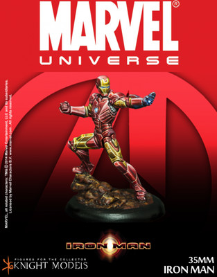 Iron Man - Marvel Knights Miniature