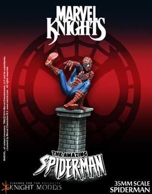 Spiderman - Spider-Man - Marvel Knights Miniature