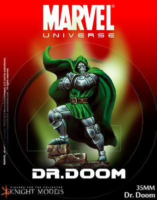 Dr. Doom - Marvel Knights Miniature