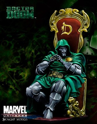 Dr. Doom 70mm - Marvel Knights Miniature