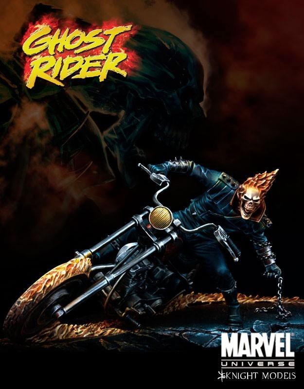 Ghost Rider 70mm - Marvel Knights Miniature
