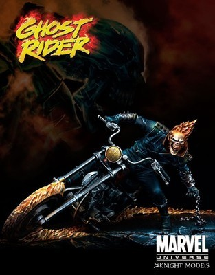 Ghost Rider 70mm - Marvel Knights Miniature