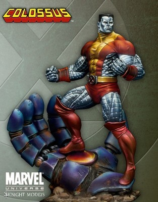 Colossus 70mm - Marvel Knights Miniature