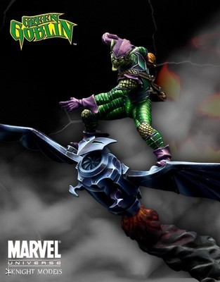 Green Goblin 70mm - Marvel Knights Miniature