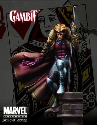 Gambit 70mm - Marvel Knights Miniature
