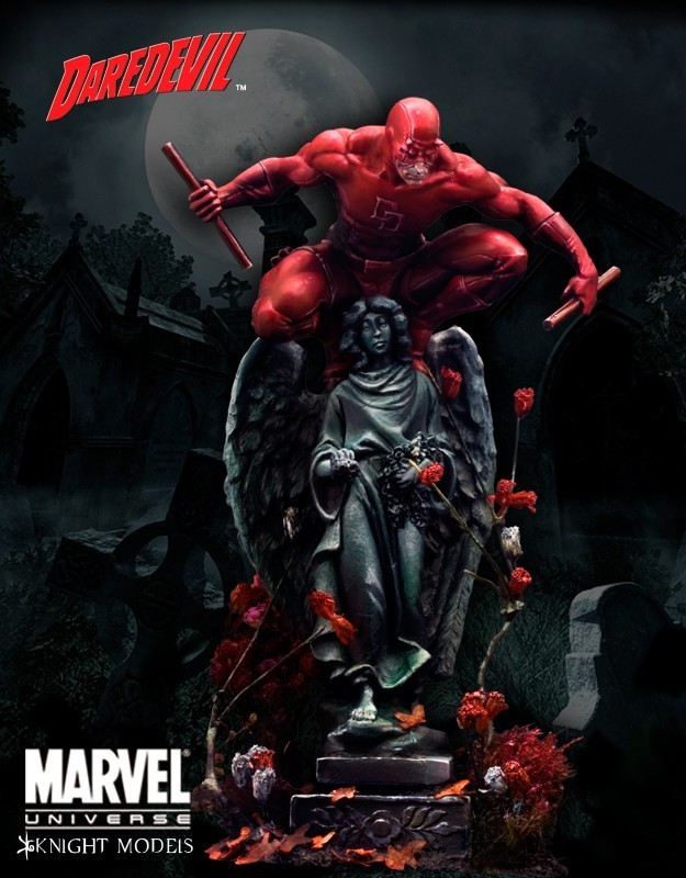 Daredevil 70mm - Marvel Knights Miniature