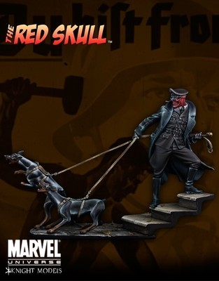 Red Skull 70mm - Marvel Knights Miniature