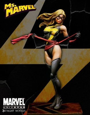 Ms Marvel 70mm - Marvel Knights Miniature