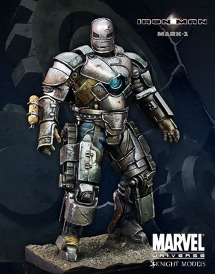 Iron Man MK-1 70mm - Marvel Knights Miniature