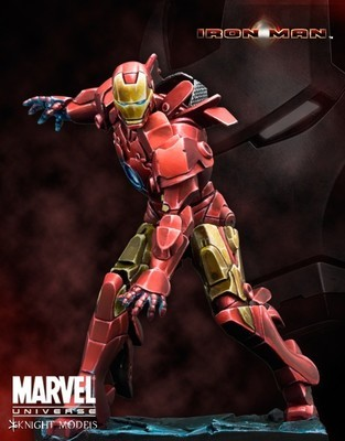 Iron Man Special Edition 70mm - Marvel Knights Miniature