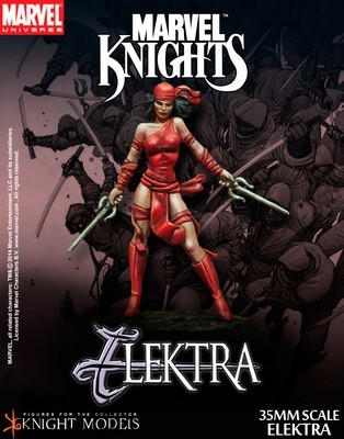 Elektra - Marvel Knights Miniature