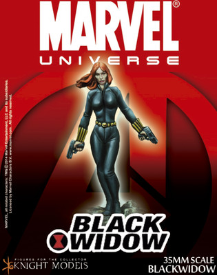 Black Widow - Marvel Knights Miniature