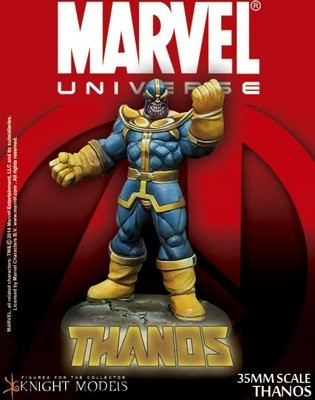 Thanos - Marvel Knights Miniature