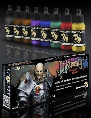 Inktensity Paint Set - Inks - Scale75