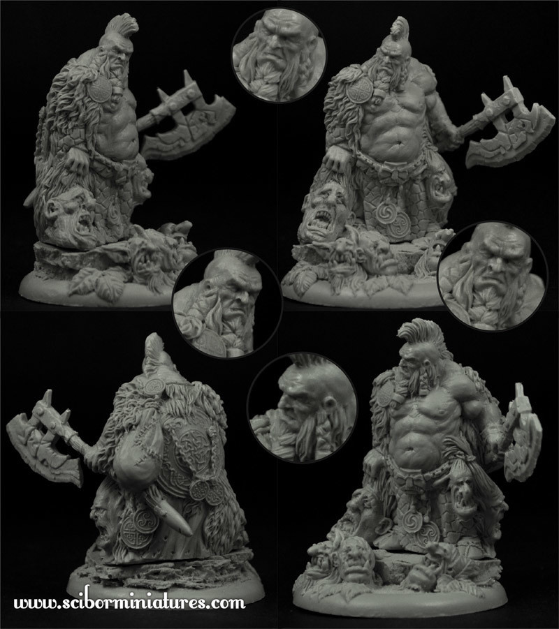 Sigurt the Slash New - Scibor Miniatures