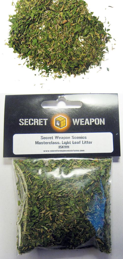 Leaf Litter - Light Green (Masterclass Scenics) - Secret Weapon