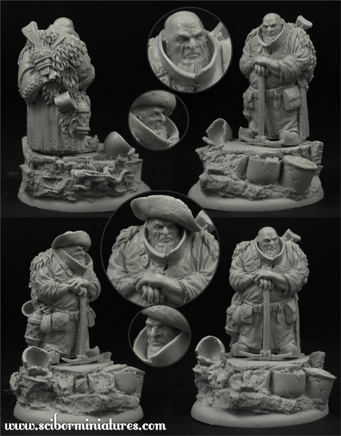 Barburkir von Kiloff New - Scibor Miniatures