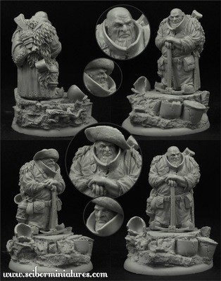 Barburkir von Kiloff New - Scibor Miniatures