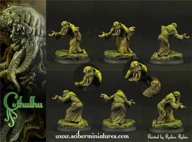 Cthulhu Cultist #2 - Scibor Miniatures
