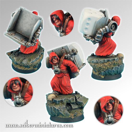 Servant Dice Bearer - Scibor Miniatures