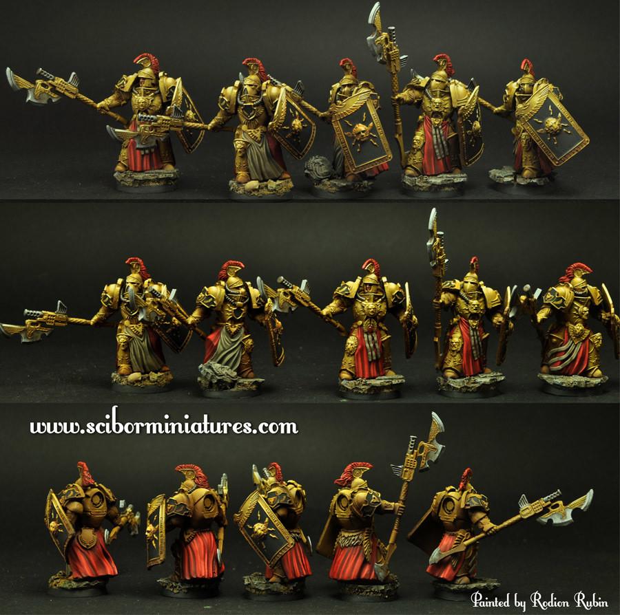 SF Roman Legionaries set2 - Scibor Miniatures