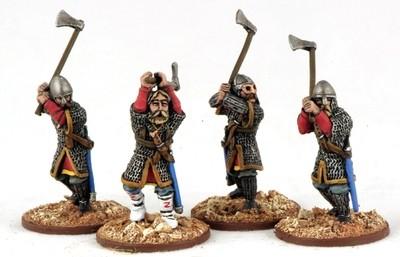 Varangian Guard Axemen (4) - SAGA - Wikinger