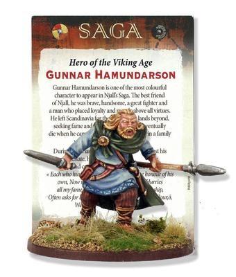 Gunnar Hamundarson - Heroes of the Viking Age - SAGA