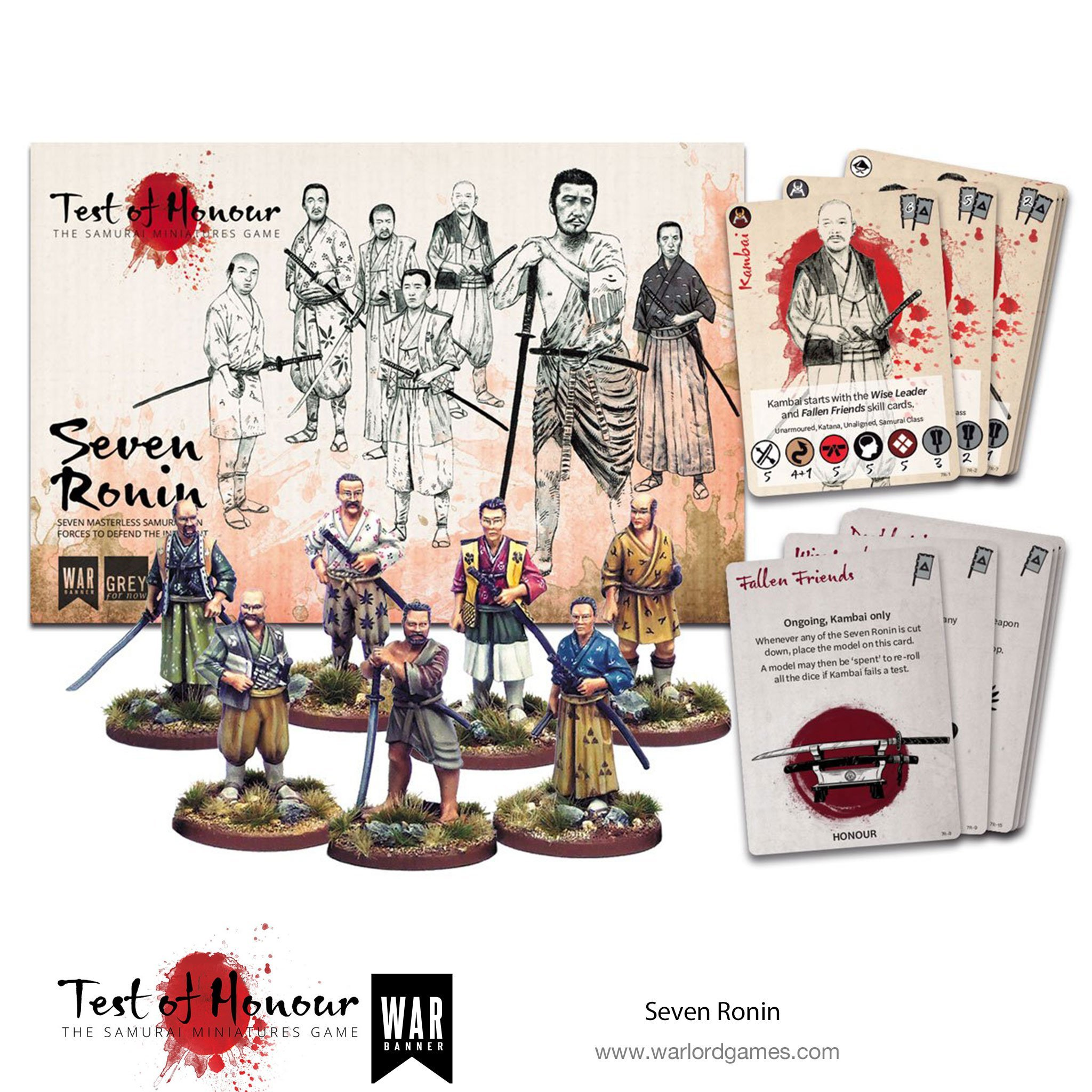 Seven Ronin - Test of Honour - Warlord Games WBTOH001