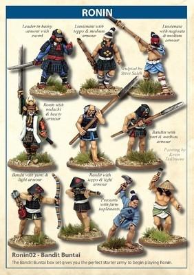 Bandit Buntai - Ronin - North Star Figures