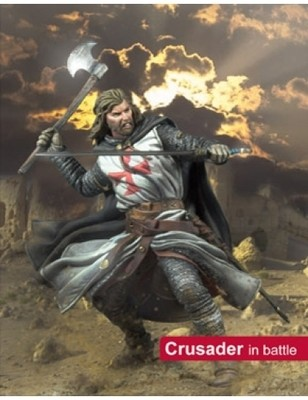 Crusader in Battle - 75mm - Scale75