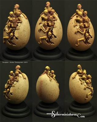 Zombie Egg - Scibor Miniatures