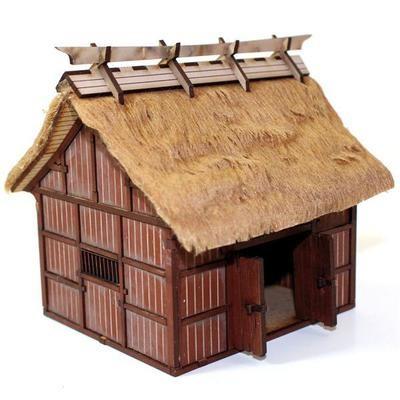 Village Rice Barn - Hütte bemalt - 4Ground