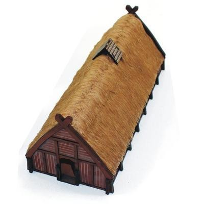 Norse Longhouse - bemalt - 4Ground