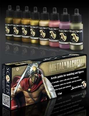 Metal N'Alchemy Golden Series Paint Set - Gold-Serie - Scale75