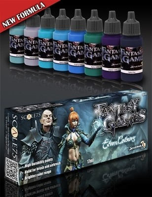 Elven Colors - Fantasy&Games Blue Paint Set - Blau Farbset - Scale75