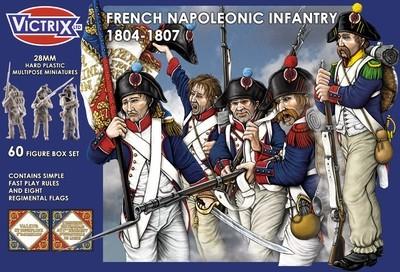 French Napoleonic Infantry 1804 - 1807 - Victrix