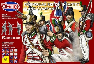 British Peninsular Infantry Flank Companies - Victrix