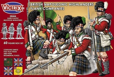 British Napoleonic Highlander Flank Companies - Victrix