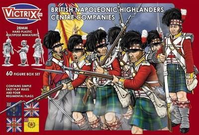 British Napoleonic Highlander Centre Companies - Victrix