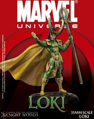 Loki - Marvel Knights Miniature