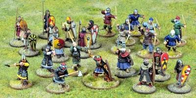 Crusader Starter Warband (Foot) - SAGA: Crescent & The Cross - Kreuzritter