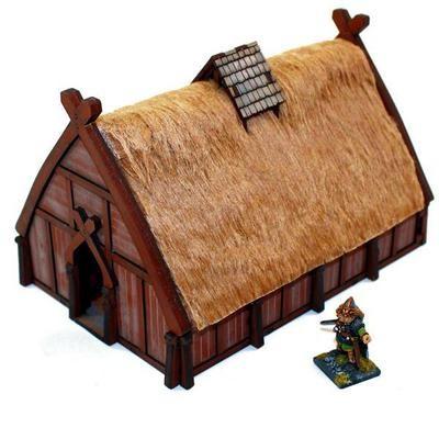 Norse Dwelling - Wohnhaus bemalt - 4Ground