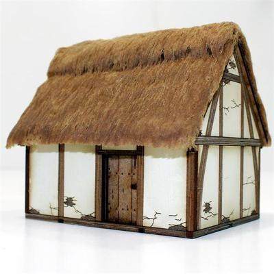 Saxon/Medieval Hovel - Hütte bemalt - 4Ground