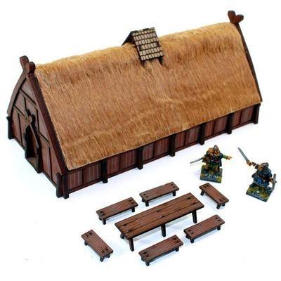 Norse Traders Shop - Handel-/Kaufhaus bemalt - 4Ground