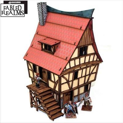 Mordanburg Highstreet House 1 - Fabled Realms - 4Ground