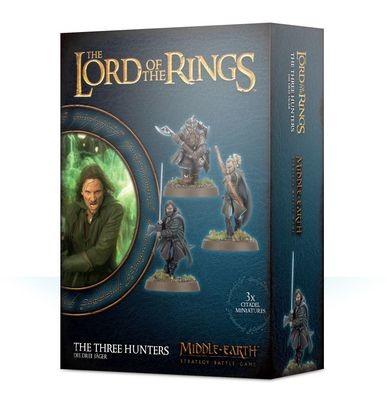 Die Drei Jäger - The Three Hunters - Lord of the Rings LotR - Games Workshop